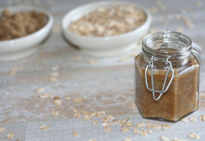 brown sugar scrub Facial