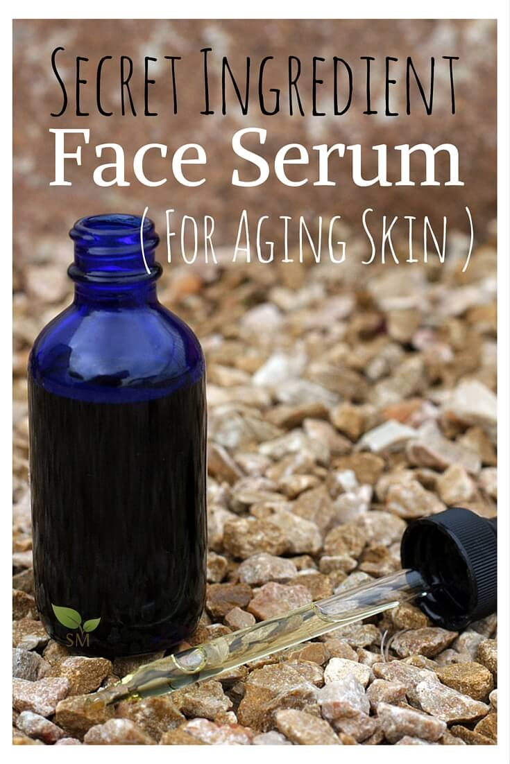 DIY Face Serum for Aging Skin - Scratch Mommy