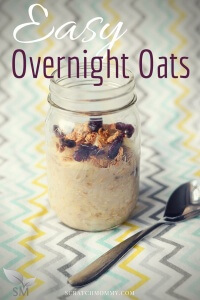 Easy Overnight Oats Recipe - Scratch Mommy
