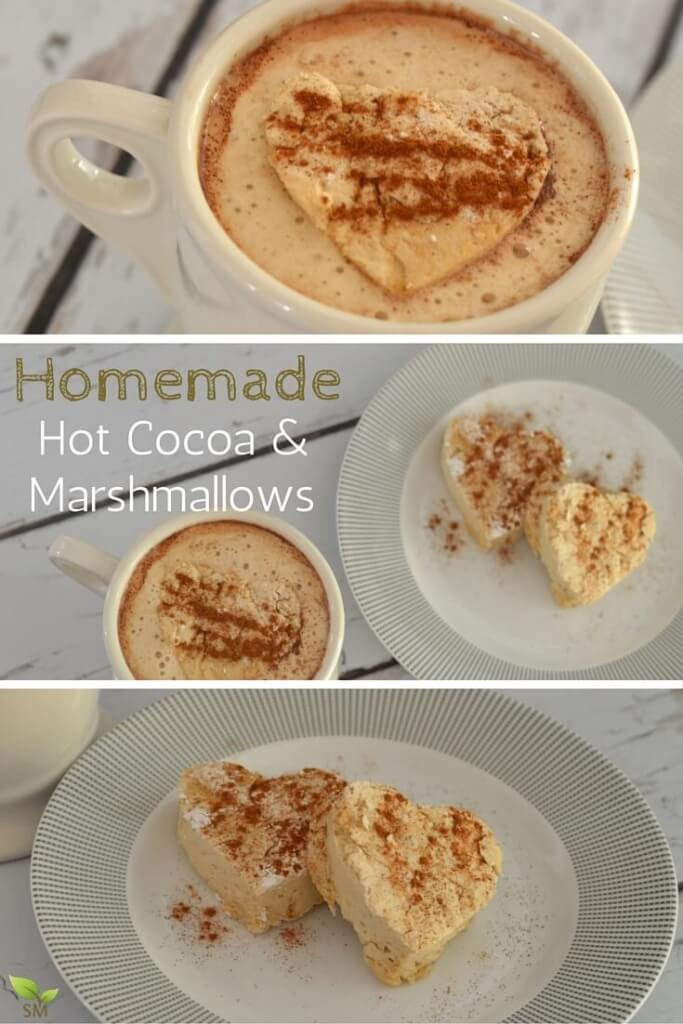 What's a pregnant momma to do when she is craving coffee? Why, create homemade hot cocoa and homemade marshmallows, of course! This clean eating recipe is perfect for the entire family, and super fun to make!