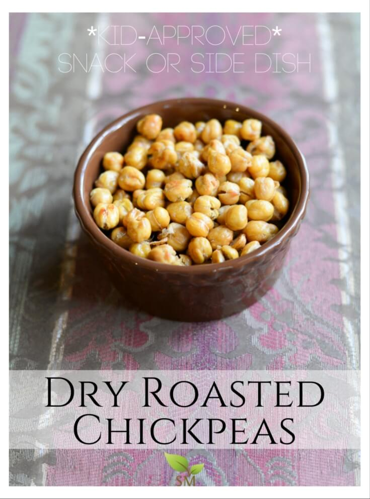Dry Roasted Chickpeas (a snack or side dish!) | Pronounce ...
