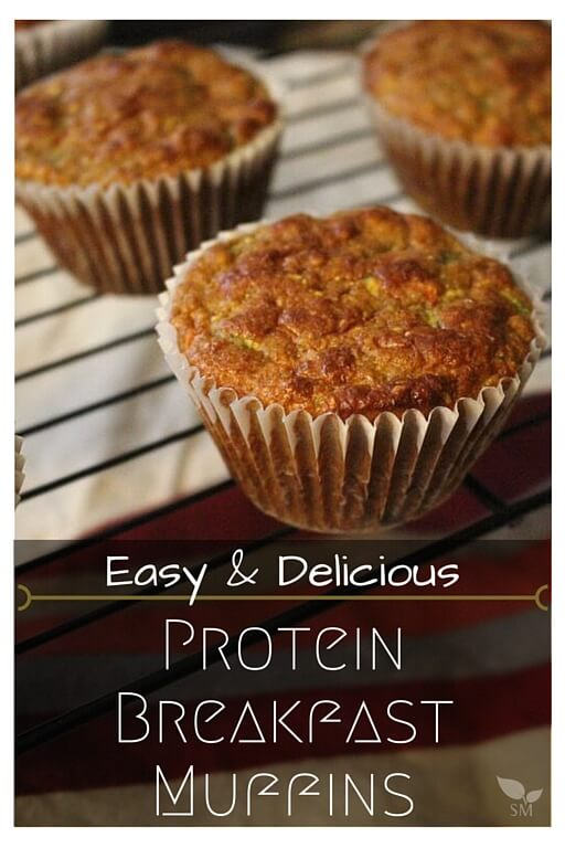 Easy and Delicious Protein Breakfast Muffins Recipe (with veggies)! - Scratch Mommy