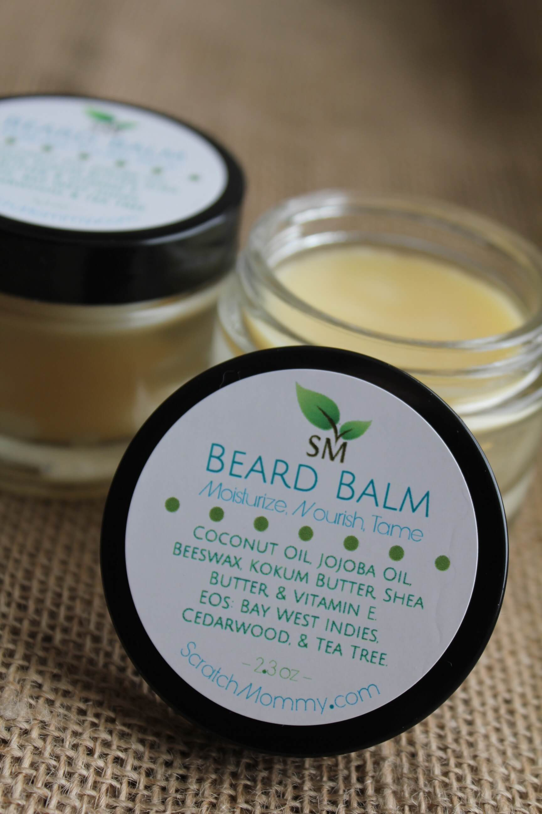 Scratch Mommy's Beard Balm