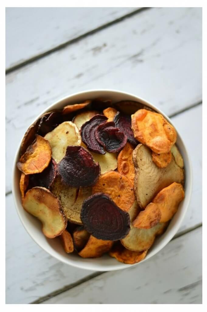 Homemade Vegetable Root Chips Recipe (aka Terra© Chips) - Scratch Mommy
