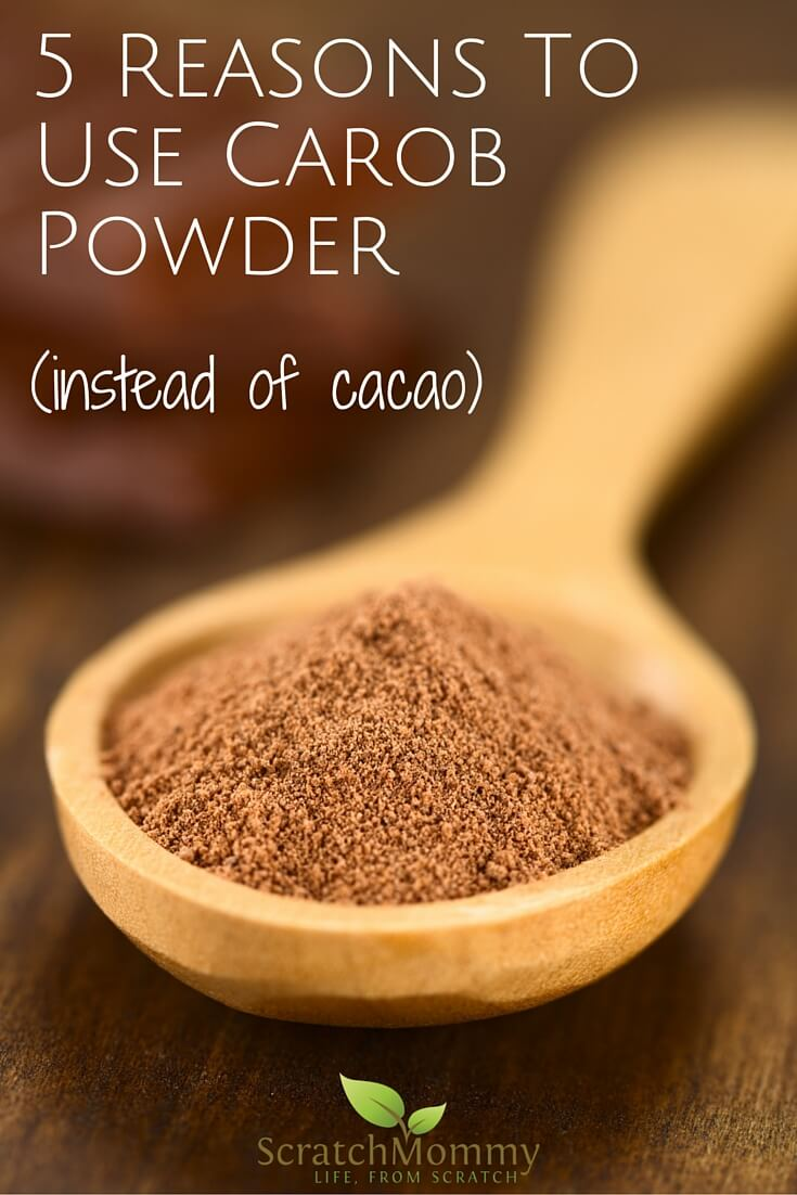 Cooking with Carob Powder: 5 Reasons To Switch From Cacao To Carob ...