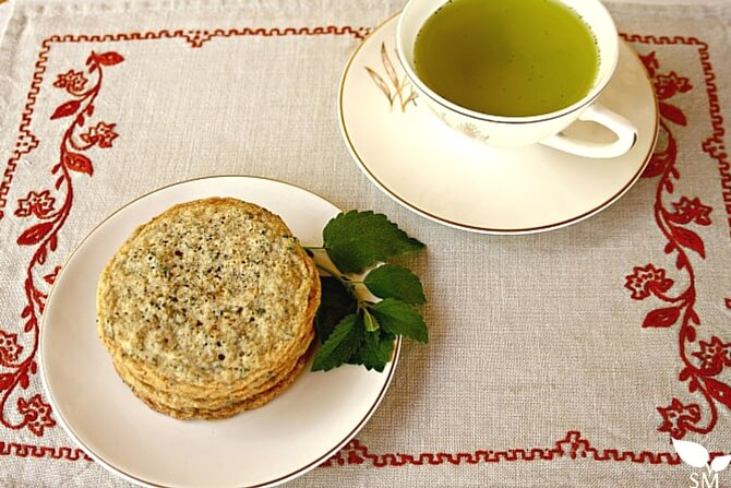 Lemon Balm Poppy Seed Cookies - Learn about lemon balm in our ultimate guide (food, home, and body) - Scratch Mommy