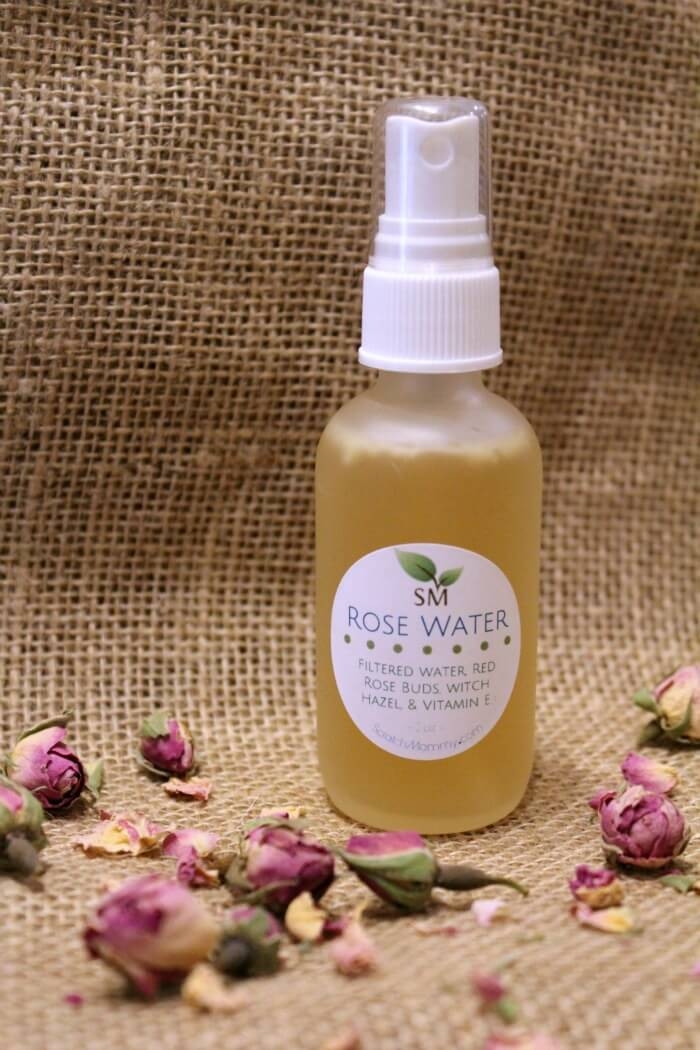 Scratch Mommy's Organic Rose Water Spray