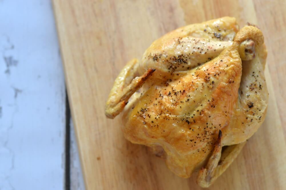 Perfectly cooked whole chicken in less than 30 minutes (easy and delicious)!- Scratch Mommy