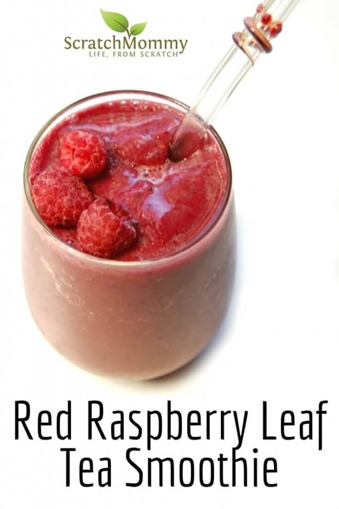 Red Raspberry Leaf Tea Smoothie Recipe (plus, learn all about red raspberry leaf)- Scratch Mommy
