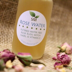 Scratch Mommy Organic Skincare Handcrafted Organic Rose Water