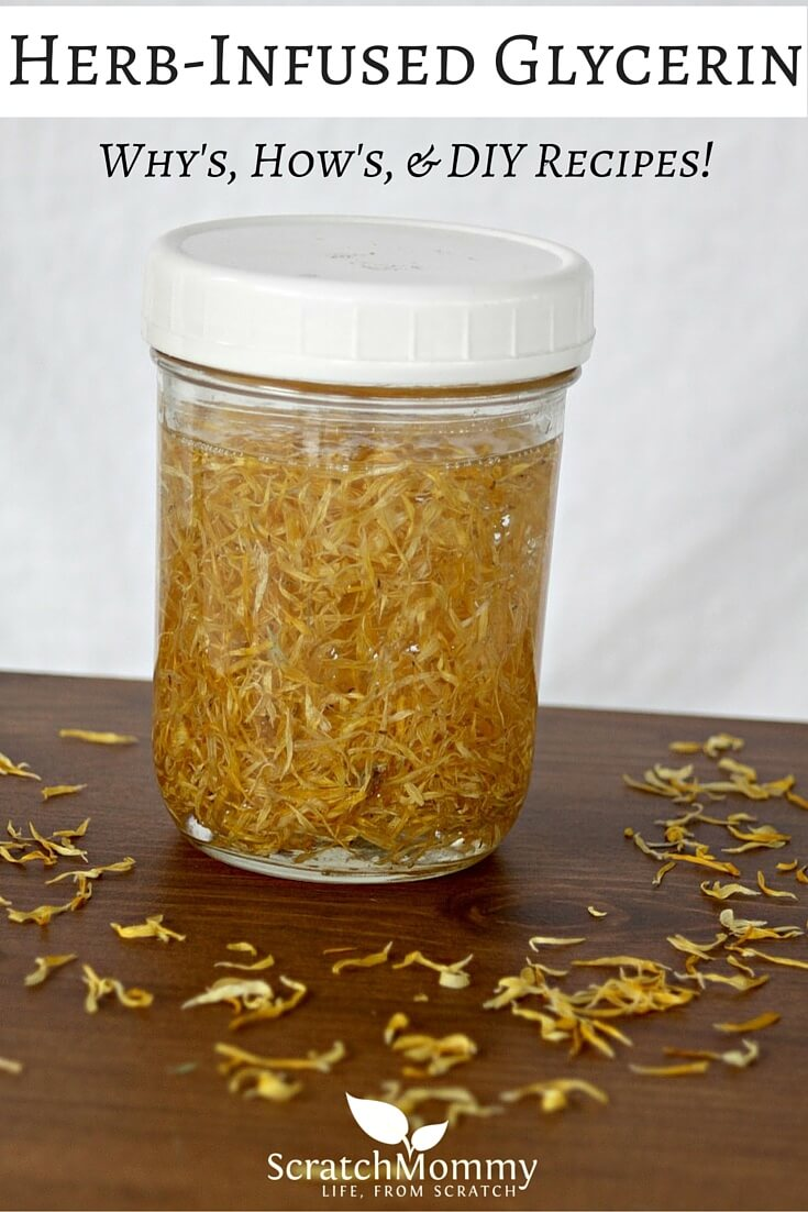 Herbal Glycerites For Skincare (How and why to make non