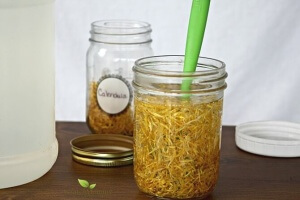 Herbal glycerites are a wonderful and beneficial way to infuse herbs and add them into your next DIY projects. Come learn how over at Scratch Mommy!