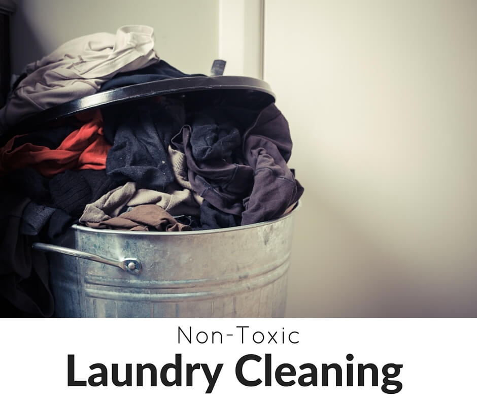 Non-Toxic Laundry Is Possible! Come grab 20+ DIY spring cleaning tips, tricks, and tools...PLUS our FREE spring cleaning checklist!- Scratch Mommy