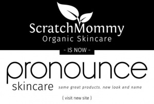 Scratch Mommy + Pronounce Skincare Homepage Slider 1