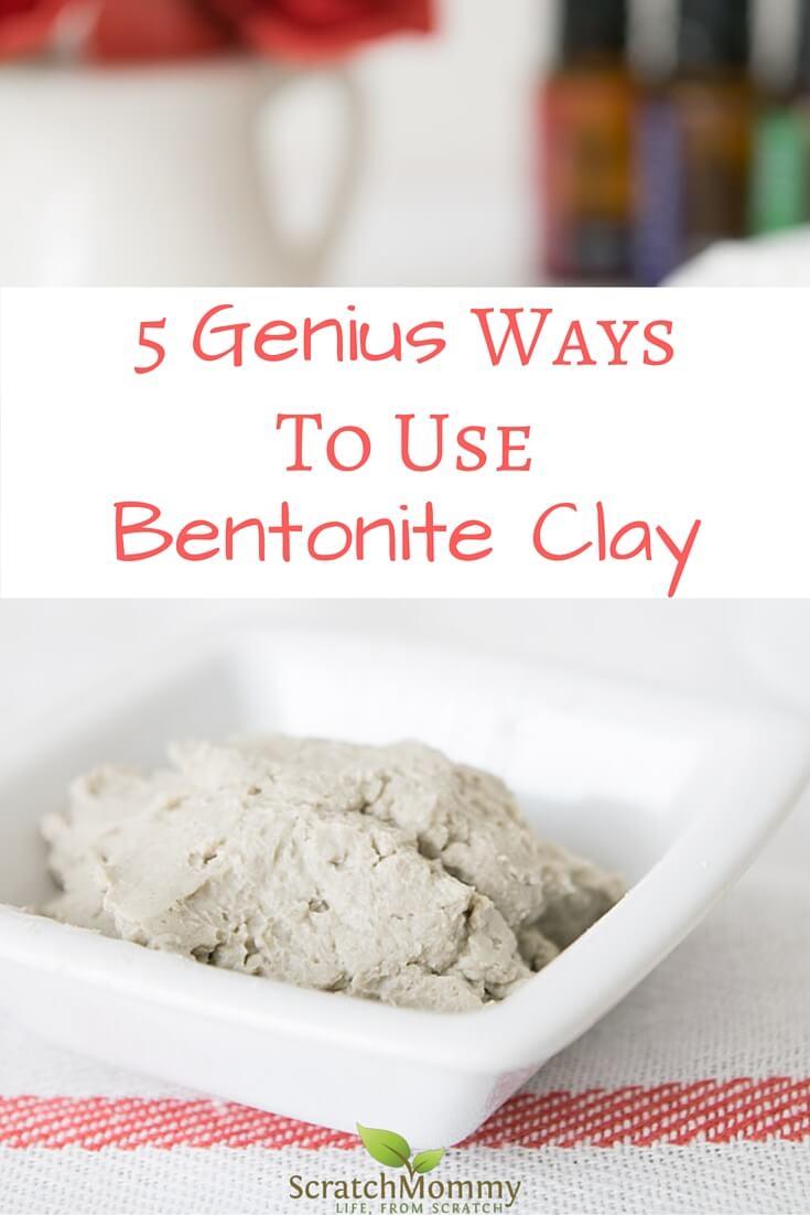 Using bentonite