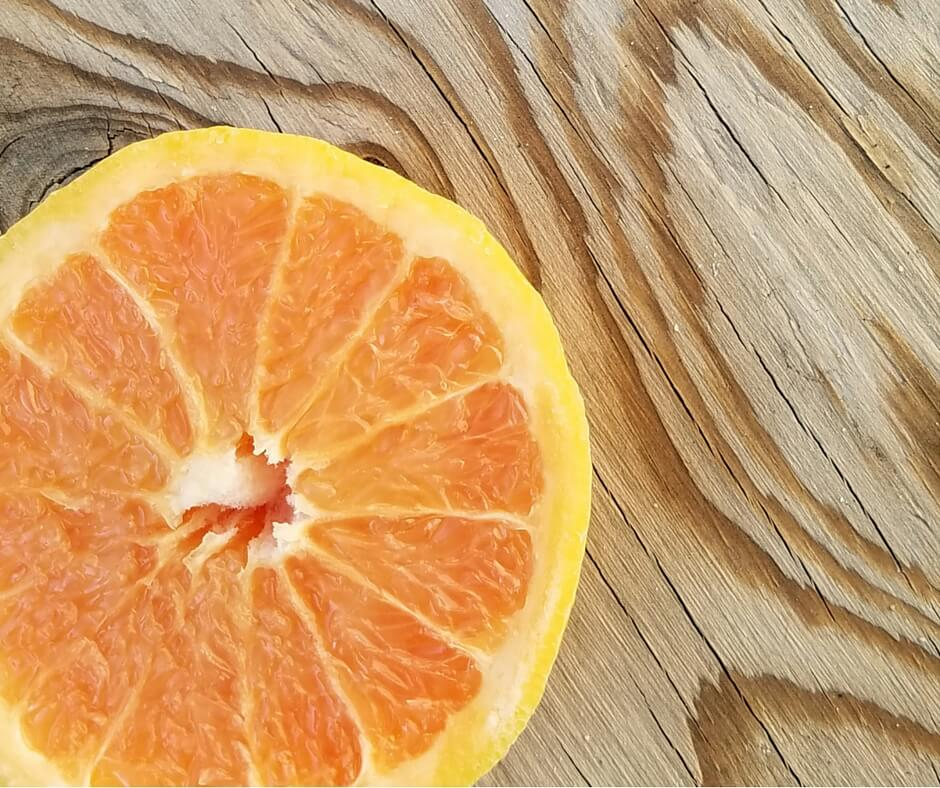 Grapefruit for healthy skin? Yes! Come grab our recipe for DIY Grapefruit and Grapeseed Body Oil!- Scratch Mommy