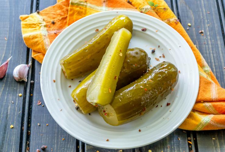 Easy Fermented Pickles
