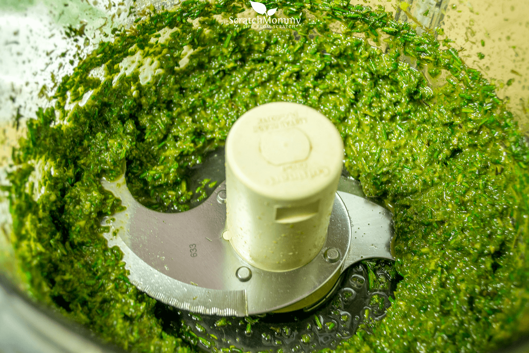 Easily turn your herbs into pesto as a brilliant way to preserve them, and always have it on hand to use quickly!- Scratch Mommy