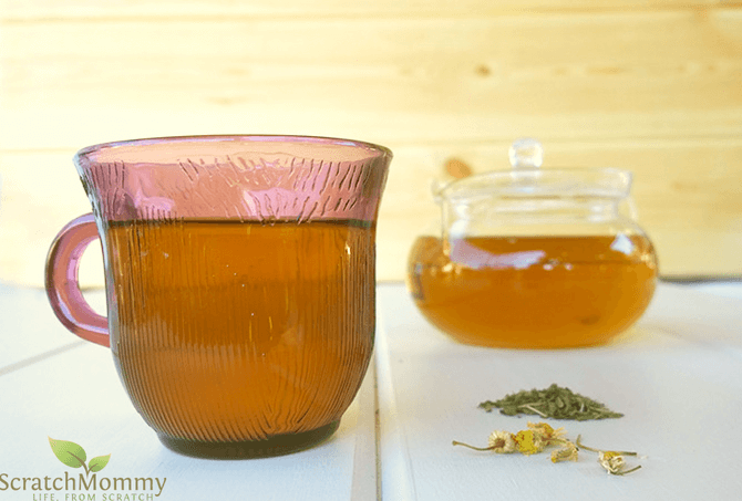 Grab our delicious Calming Catnip Herbal Tea Recipe (a perfect blend of 3 herbs to soothe and calm, naturally!)- Scratch Mommy