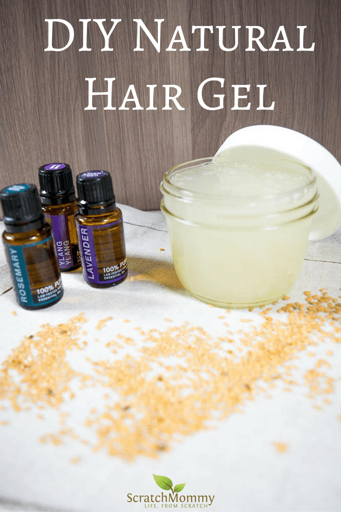 DIY Natural Hair Gel Recipe