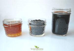 Knock out the flu and even keep it at bay by creating your own homemade elderberry syrup. 3 simple ingredients, and oh so easy!- Scratch Mommy