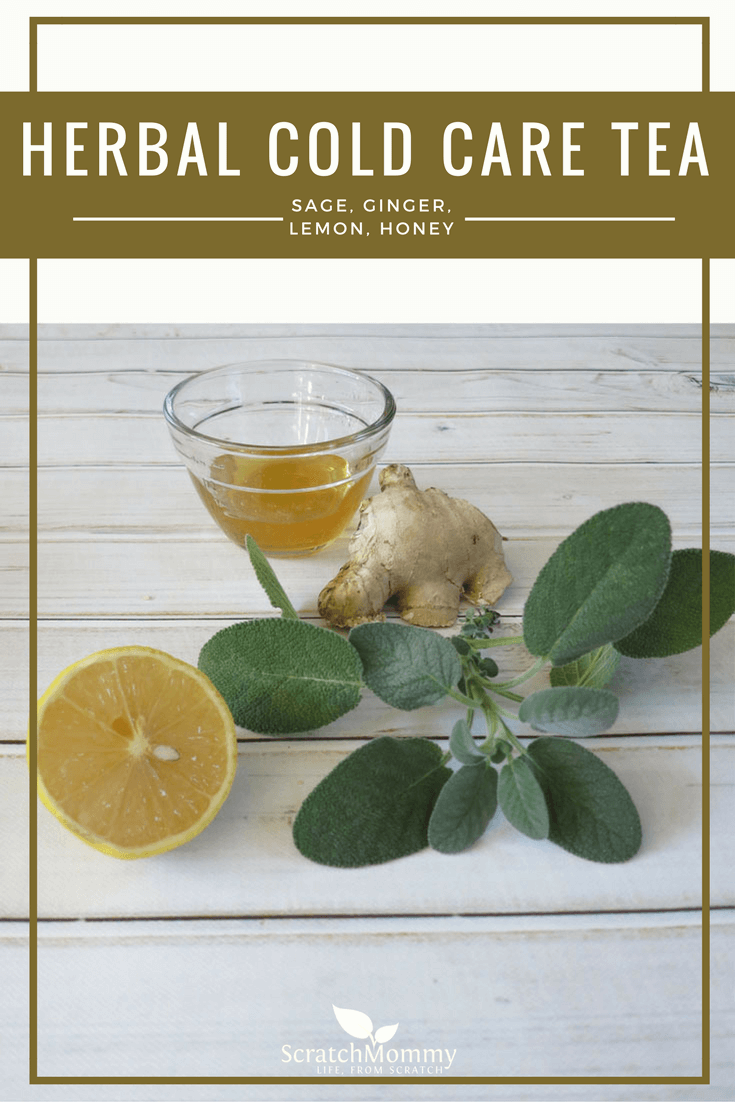 Our DIY herbal cold care tea not only packs a strong punch to boost your immune system when you need it most, but it tastes decadent, as well!- Scratch Mommy