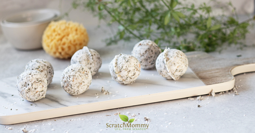 Herbal Headache Relief Shower Bombs - Scratch Mommy